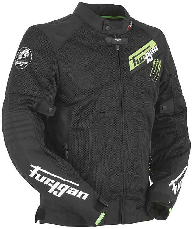 ddc87e80618af Furygan Hurricane Vented Textile Jacket